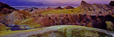 Edward Hopper - Impressionistic Zabriskie by Paul Basile