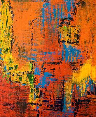 Painting - Impressions 2009 by Gabi Dziok-Grubb