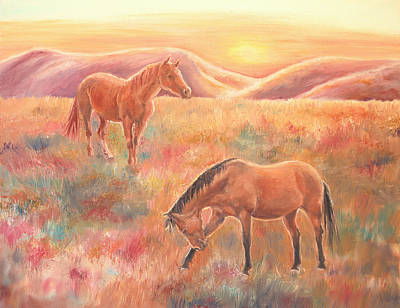 Painting - Impressions At Sunset by Elizabeth Lock