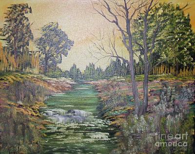 Impressions In Oil - 1 Art Print by Bill Turck