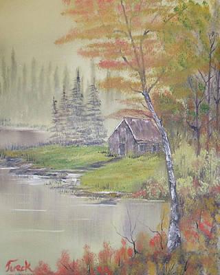 Impressions In Oil - 10 Art Print by Bill Turck