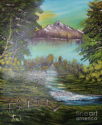 Bob Ross Painting - Impressions In Oil - 11 by Bill Turck