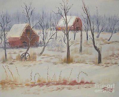 Impressions In Oil - 19 Art Print by Bill Turck