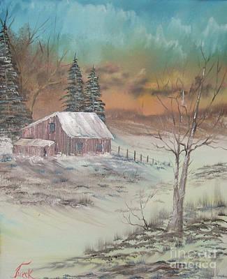 Impressions In Oil - 3 Art Print by Bill Turck