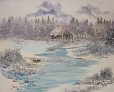 Impressions In Oil - 9 Art Print by Bill Turck