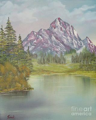 Impressions In Oil -13 Art Print by Bill Turck