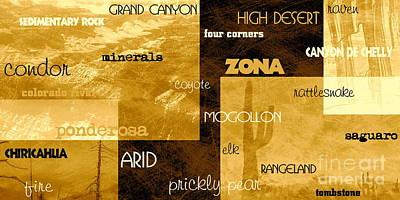 Digital Art - Impressions Of Arizona Se2 by Tim Richards