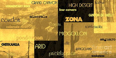 Digital Art - Impressions Of Arizona Se by Tim Richards