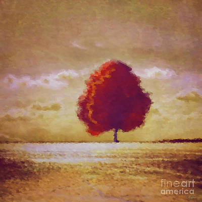 Impressionist Mixed Media - Impressions Of Autumn by KaFra Art