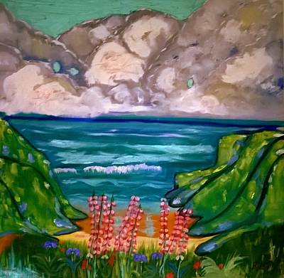 Painting - Impressions Of Brandy Cove  by Rusty Gladdish