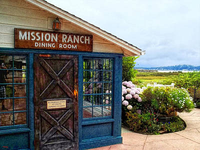 Photograph - Impressions Of Mission Ranch by Glenn McCarthy Art and Photography