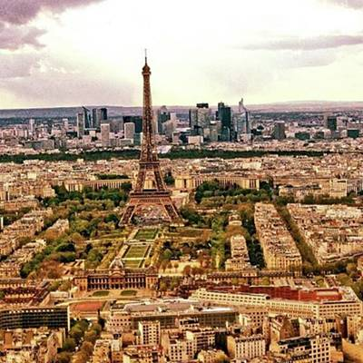 Paris Skyline Photograph - Impressions Of Paris (5)  This Is by Sascha Schultz