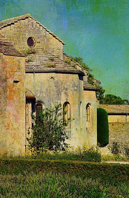 Photograph - Impressions Of Van Gogh's Saint-paul-de-mausole by Carla Parris