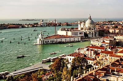 Digital Art - Impressions Of Venice - Basilica Di Santa Maria Della Salute  by Georgia Mizuleva