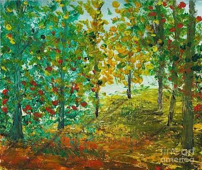 Painting - Impressions by Yossi Sigura