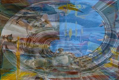 City Of Dubai Digital Art - 'impressive Rome' by Vincent Messelier