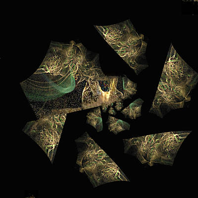 Cs5 Digital Art - Imprisoned Within Self-delusion by Rebecca Phillips