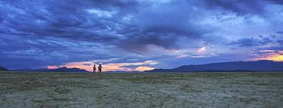 Photograph - Impromptu Meeting In The Desert by Peter Thoeny
