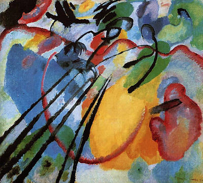 Painting - Improvisation 26 by Wassily Kandinsky