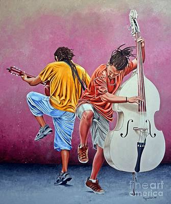 Painting - Improvisation by Rezzan Erguvan-Onal
