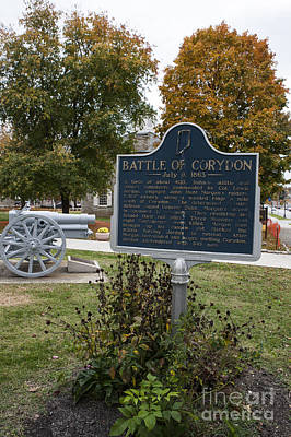 In-31.1961.1 Battle Of Corydon July 9, 1863 Art Print by Jason O Watson