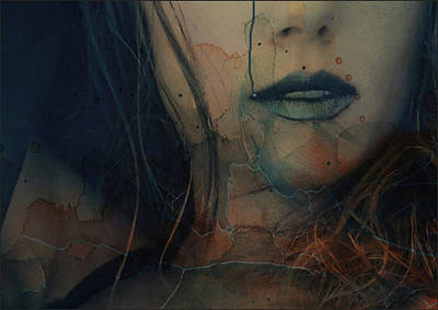 Portrait Mixed Media - In A Broken Dream  by Paul Lovering