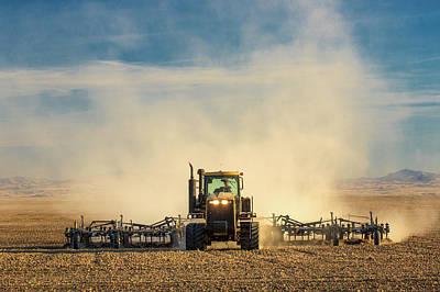 In A Cloud Of Dust Art Print