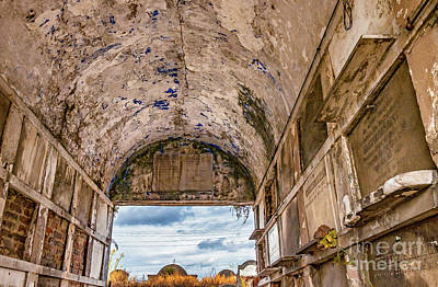 Photograph - In A Crypt In Nola by Kathleen K Parker