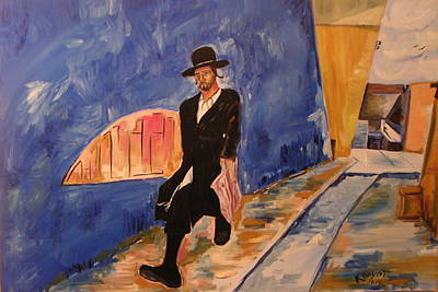 Painting - In A Hurry by Marwan  Khayat