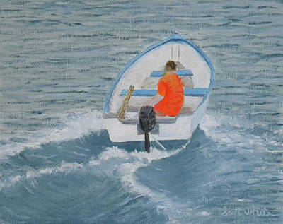 Painting - In A Hurry by Scott W White