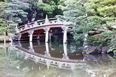 Photograph - In A Japanese Garden by Dianne Levy