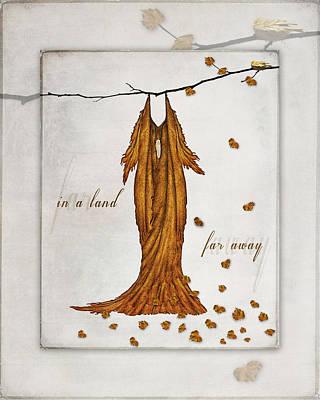 Digital Art - In A Land Far Away Fairie Dress by Christina VanGinkel