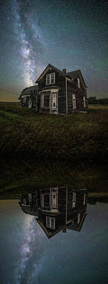 Photograph - iN A MiRRoR dARKLY by Aaron J Groen