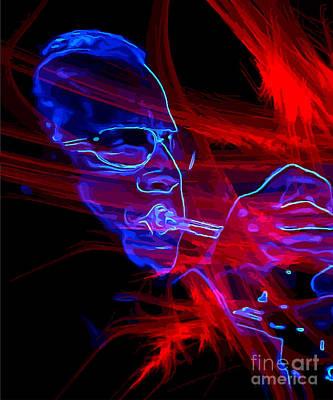Digital Art - In a Mist by Richard Jones