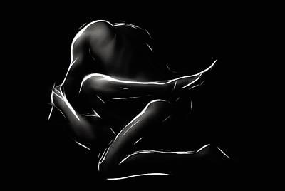 Sex Digital Art - In Action by Steve K