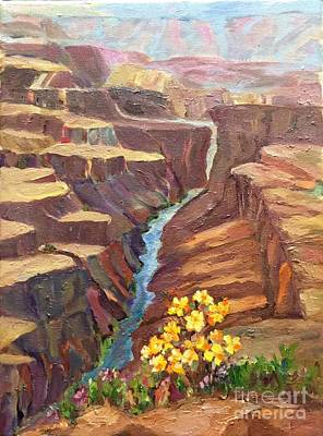 Painting - In All God's Glory by Patsy Walton