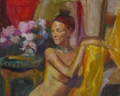 In Amsterdam Art Print by Irena Jablonski