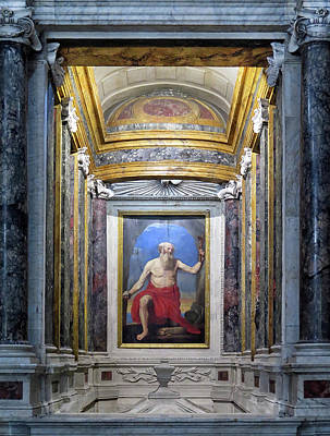Photograph - In An Old Church In Rome by Dave Mills