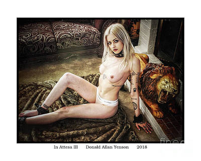 Photograph - In Attesa IIi by Donald Yenson