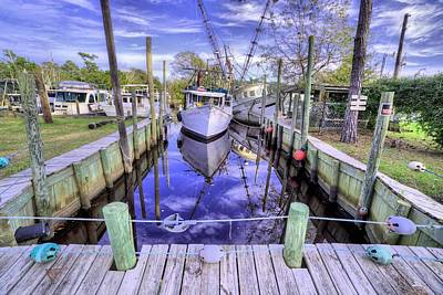 Photograph - In Bayou La Batre by JC Findley