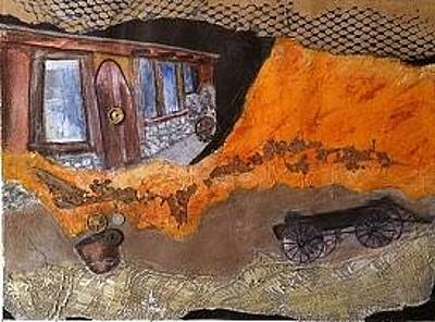 Old Home Place Mixed Media - In Better Times by Elizabeth  Bogard