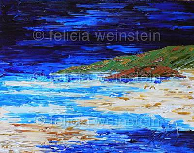 Painting - In Between 1 by Felicia Weinstein