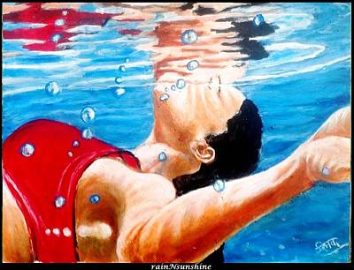 Painting - In Between by Trinath Sen