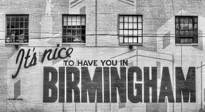 Photograph - In Birmingham  by JC Findley