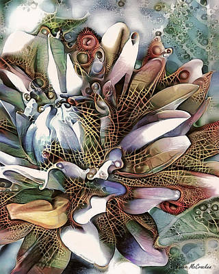 Digital Art - In Bloom by Pennie McCracken