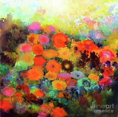 Painting - In Bloom by Robert Birkenes