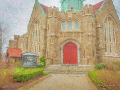Mcentee Painting - In Brockton For Good by Bill McEntee