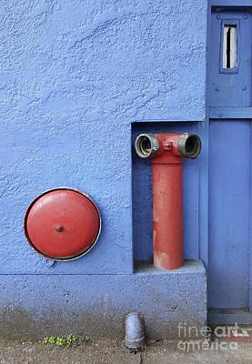 Photograph - In Case Of Fire by Ethna Gillespie