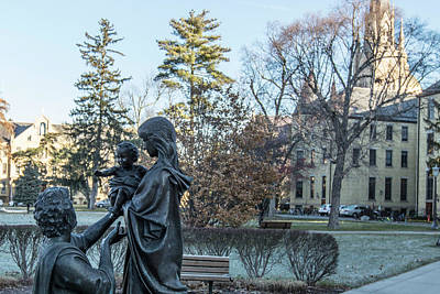 Photograph - In Celebration Of Family Notre Dame 2 by John McGraw