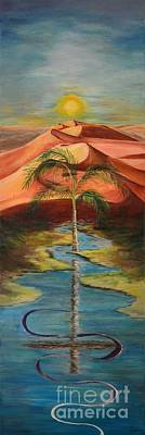 Reassurance Painting - In Christ Alone by Sheila Vander Wier